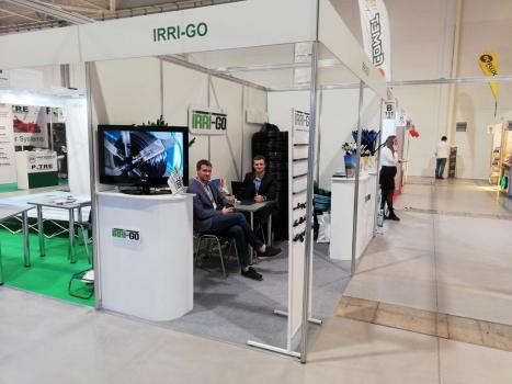 Выставочный стенд IRRI-GO